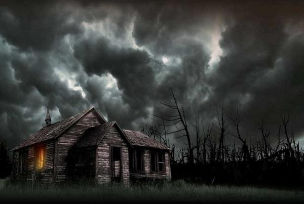 Страшная история о старом заброшенном доме.