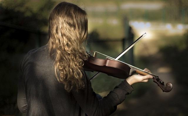 Случайных встреч не бывает. История про скрипачку.