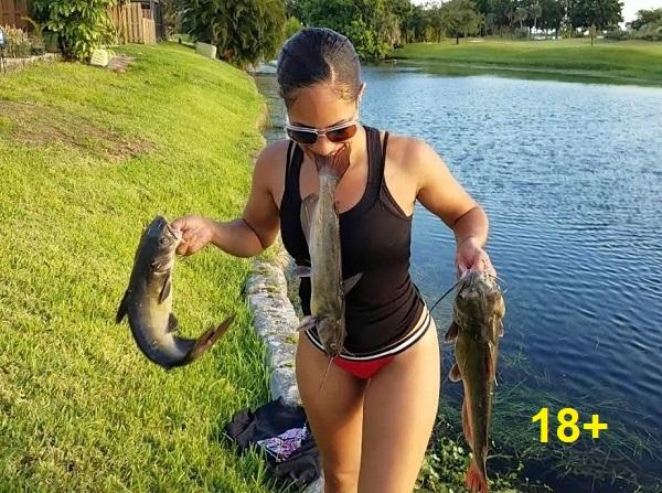 ВИДЕО. Смешные случаи на рыбалке!