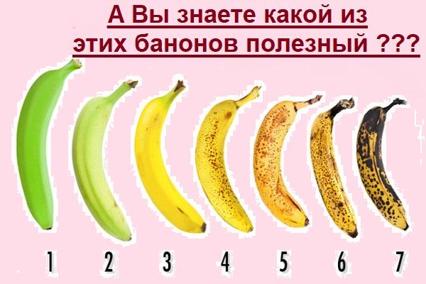 Узнайте какие бананы на самом деле полезные.