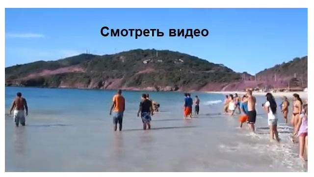 Видео. Он просто снимал пляж и море, как вдруг...