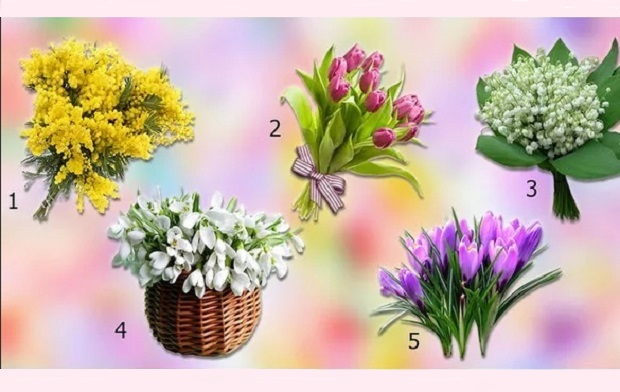 Любимые цветы расскажут всё о тебе.